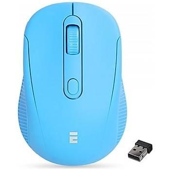 Everest SM-300 Turkuaz 4D Kablosuz Mouse
