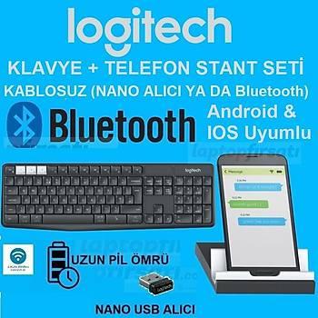 Logitech K375s Multi-Device Kablosuz Klavye ve Stand 920-008178