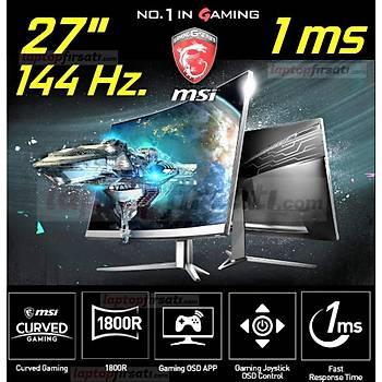 MSI Optix MAG271CV 27 144Hz 1ms (HDMI+Display) Full HD Curved Oyuncu Monitör
