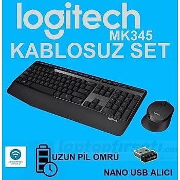 ????Logitech MK345 Kablosuz Klavye Mouse Set 920-006514