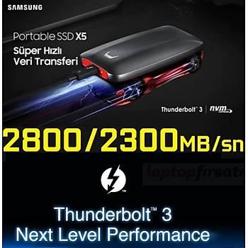 Taşınabilir 2 TB SSD X5 Thunderbolt3 2800-2300Mb/sn MU-PB2T0B/WW