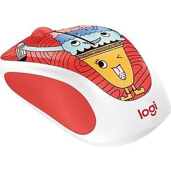 ????Logitech M238 Kablosuz Mouse The Doodle Collection 910-005051