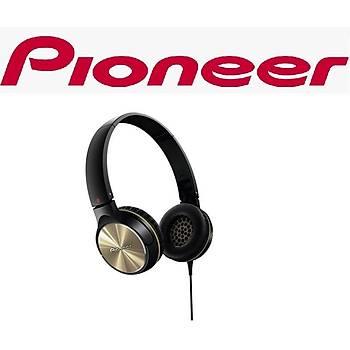 PIONEER SE-MJ532-N SÝYAH / ALTIN KULAKÜSTÜ KULAKLIK
