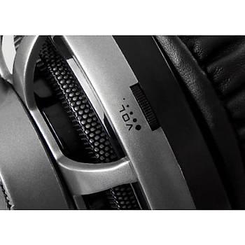 Rampage SN-RX7 EAGLE Gri Ledli 7.1 Mikrofonlu Oyuncu Kulaklýðý