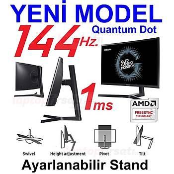 Samsung LC27FG73FQMXUF 27 1ms (2xHDMI+Display) Full HD Curved Oyuncu Monitor