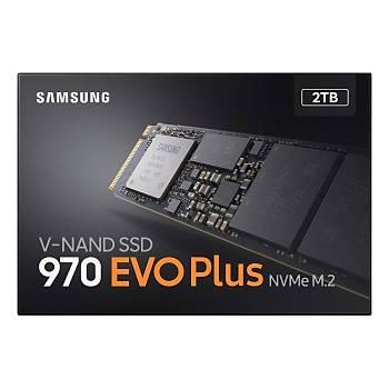 Samsung 2TB 970 Evo Plus NVME M.2 SSD 3500/3300MB/S MZ-V7S2T0BW