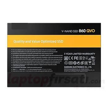 Samsung 860 QVO  2TB 550-520Mb/s Sata3 2.5 SSD 76Q2T0BW SAMSUNG TÜRKİYE