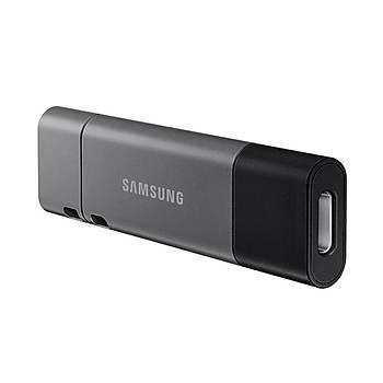 SAMSUNG Yüksek Hızlı 128GB USB 3.1+TYPEC+A OTG DUO+ MUF-128DB/APC