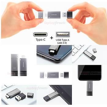 SAMSUNG Yüksek Hýzlý 64GB USB 3.1+TYPE C+A OTG DUO+ MUF-64DB/APC