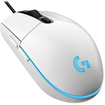 Logitech G203 Lightsync Kablolu Mouse Beyaz 910-005797