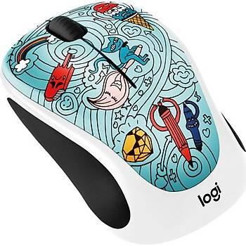 ????Logitech M238 Kablosuz Mouse The Doodle 910-005055