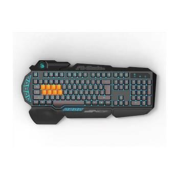 Bloody B318 8Tuş Mekanik+Silikon 0.2Ms Neon Işıklı Oyuncu Klavye