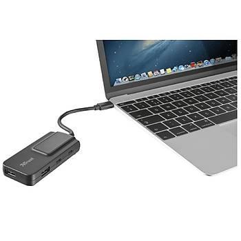 TRUST 21321 2 Port USB-C + 2 Port USB 3.1 TO USB TYPE C HUB
