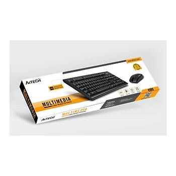 A4 TECH 4100 2.4Ghz Q KABLOSUZ KLAVYE+MOUSE SET