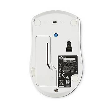 HP WIRELESS OPTICAL MOUSE X3000 BEYAZ  (N4G64AA)