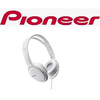 PIONEER SE-MJ711-W BEYAZ KULAKÜSTÜ KULAKLIK