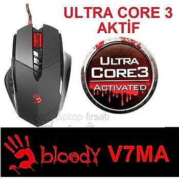 BLOODY V7MA CORE 3 MAKROSU AKTÝF METAL AYAK 3200 CPI