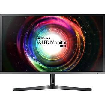 Samsung LU32H750UMMXUF 31.5 4ms (Display+HDMI) FreeSync UHD QLED Monitör