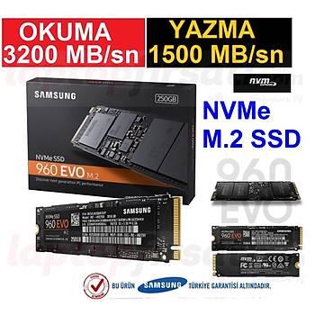 Samsung 960 EVO 3200MB-1500MB/s NVMe M.2 SSD 250GB MZ-V6E250BW