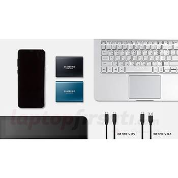 SAMSUNG T5 250GB TAŞINABİLİR HARİCİ SSD MU-PA250B/WW - 3y garanti