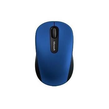 Microsoft Mobile 3600 Bluetooth Mouse Mavi  PN7-00023 Alýcý gerektirmez