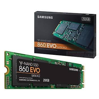 Samsung 860 EVO 250GB 550MB-520MB/s M.2 Sata SSD N6E250BW