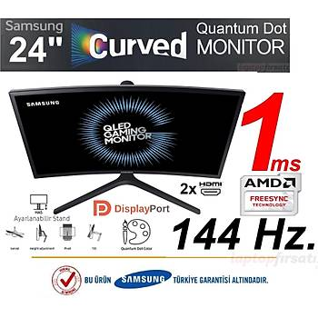 Samsung LC24FG73FQMXUF 1ms DP+2xHDMI FreeSync FHD Curved 23.5