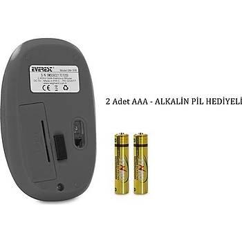 Everest Sm-508 Usb Gri/Siyah 2.4Ghz Kablosuz Mouse
