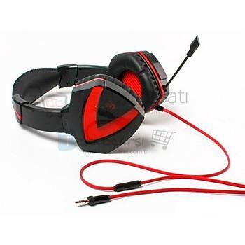 Bloody G500 Combat Stereo Gaming Mikrofonlu Kulaklýk 3.5mm Jack
