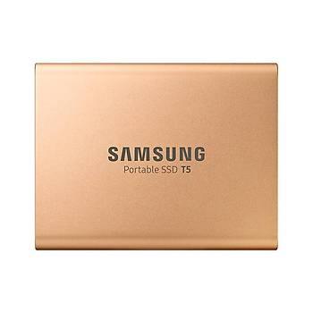 SAMSUNG T5 500GB SSD TAÞINABÝLÝR HDD MU-PA500G/WW GOLD 3 YIL GARANTÝLÝ