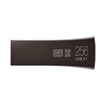 SAMSUNG 300MB/Sn YüksekHýzlý 256GB USB3.1BAR+SÝYAH MUF-256BE4/APC
