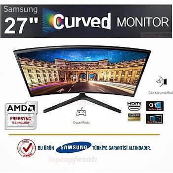 Samsung LC27F396FHMXUF 27 60Hz 4ms (VGA+HDMI) FreeSync FullHD VA Monitör