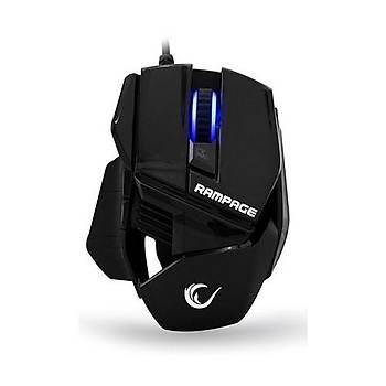 Rampage SMX-77 Usb Siyah 2000dpi Oyuncu Mouse