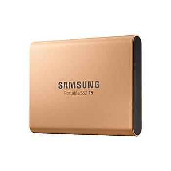 SAMSUNG T5 500GB SSD TAŞINABİLİR HDD MU-PA500G/WW GOLD 3 YIL GARANTİLİ
