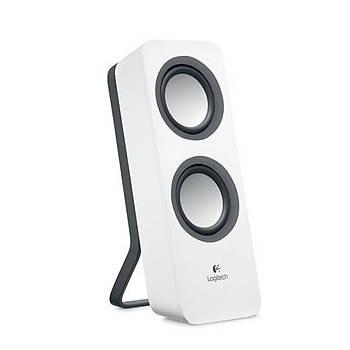 ????Logitech Z200 1+1 Beyaz Stereo Hoparlör 980-000811