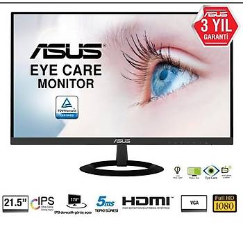 Asus VZ229HE 21.5 5ms 75Hz HDMI+VGA IPS IPS, Ultra ince, Çerçevesiz Monitor