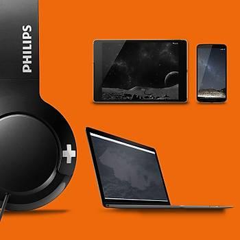 Philips Shl3075Bk/00 Bass+ Kafabantlý Mikrofonlu Kulaklýk Siyah