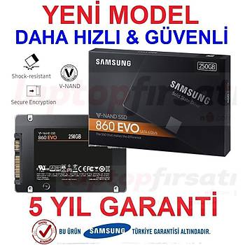Samsung 860 Evo 250GB 560MB-520MB/s Sata3 2.5