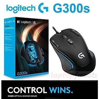 Logitech G300s Kablolu 9 Prog. Tuþlu Oyuncu Mouse 910-004346