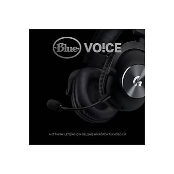 Logitech G Pro X 981-000818 7.1 Surround Mikrofonlu Oyuncu Kulaklýðý
