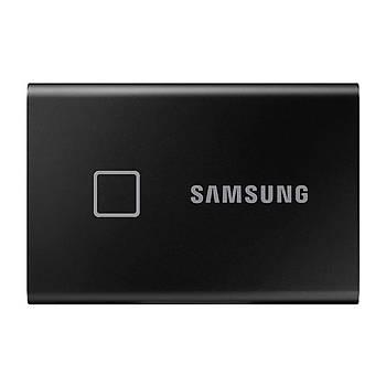 Samsung T7 Touch 2TB USB 3.2 Gen 2 MU-PC2T0K/WW Taþýnabilir SSD Siyah