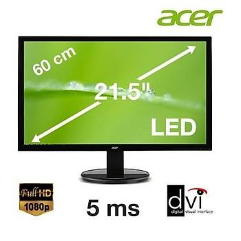 21.5 ACER K222HQLBD LED 5MS SLIM FULL HD EKRAN