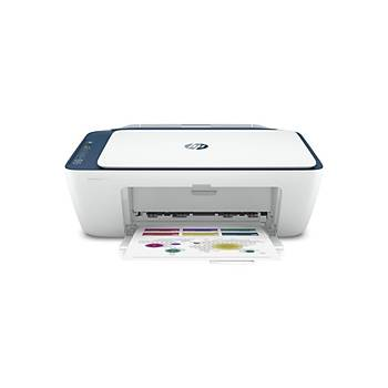 HP DeskJet 2721 Fotokopi+Tarayýcý+Wi-Fi+Airprint RENKLÝ Yazýcý 7FR54B
