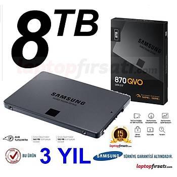 Samsung 870 QVO 8TB 560MB-530MB/s Sata 3 SSD (MZ-77Q8T0BW)