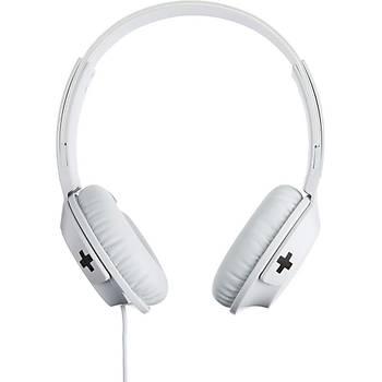 Philips BASS+Shl3075WT Bass+ Kafabantlý Mikrofonlu Kulaklýk Beyaz