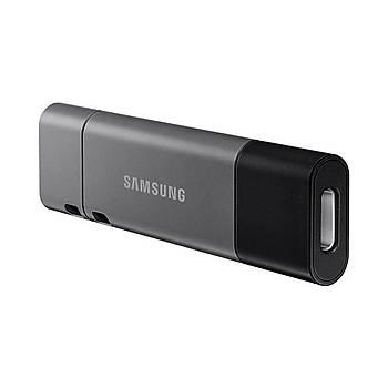 SAMSUNG Yüksek Hýzlý 256 GB USB3.1+TYPEC+A OTG DUO+ MUF-256DB/APC