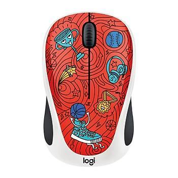 Logitech M238 Kablosuz Mouse The Doodle Collection 910-005054