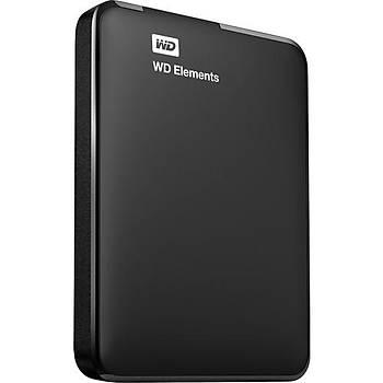 1 TB WD ELEMENTS  USB 3.0 SIYAH WDBUZG0010BBK-WESN