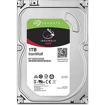 Seagate NAS HDD 1TB 3.5 5900RPM 64MB Cache SATA 3 ST1000VN002