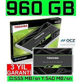 OCZ Toshiba TR200 960GB 555-540MB/s 3DNAND 2.5 SSD THN-TR20Z9600U8